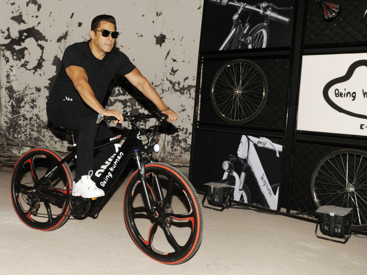 abfc025d7d9 Salman Khan launches e-cycles, wants to venture into smartphones