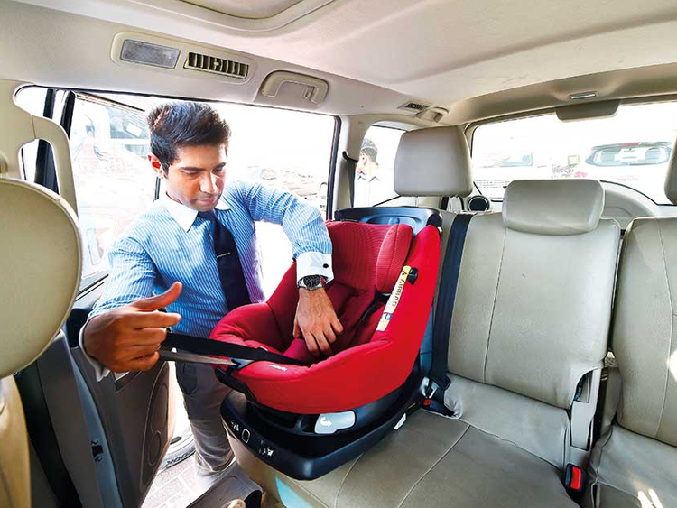 150 taxis have child car seats in Abu Dhabi | Transport