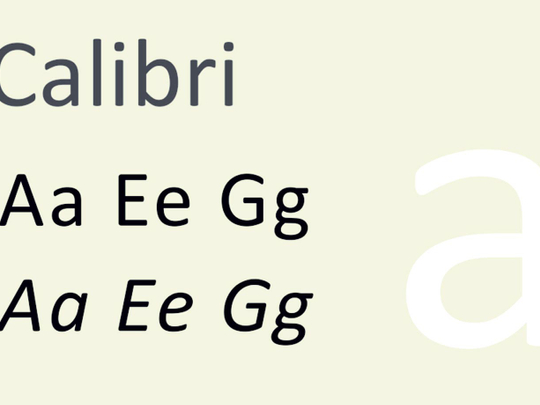 How Calibri font brought down the Nawaz Sharif government