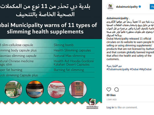 Dubai Warns Against 33 Health And Sexual Enhancement Supplements Government Gulf News