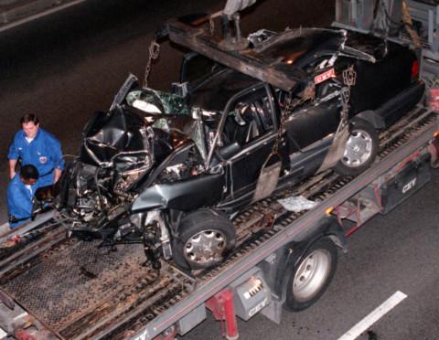 August 31, 1997: Princess Diana dies in Paris car crash ...