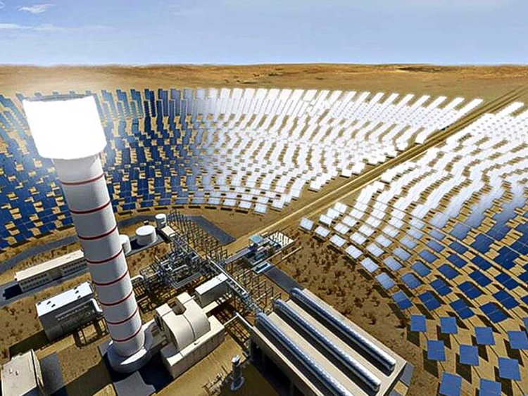 Dubai Launches World S Largest Concentrated Solar Power