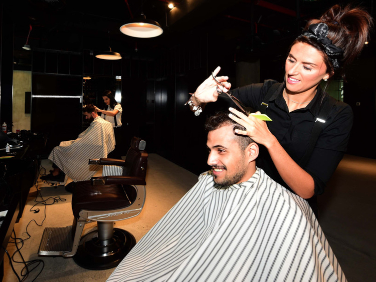 Female barbers make the cut in Dubai