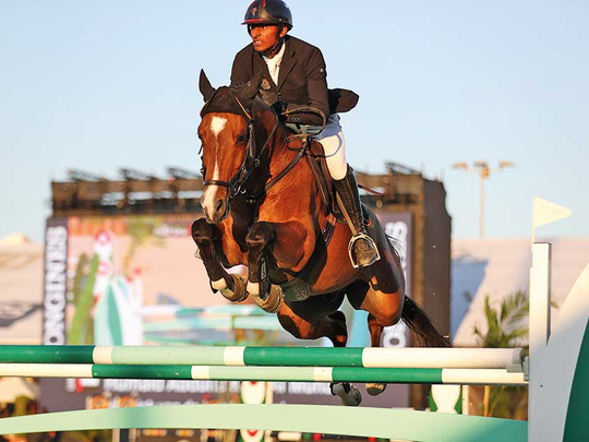 Al Muhairi eyes back-to-back wins in HH Sharjah Ruler Cup International showjumping