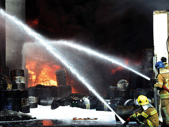Sharjah recorded 7% drop in fire incidents in 2017 | Uae