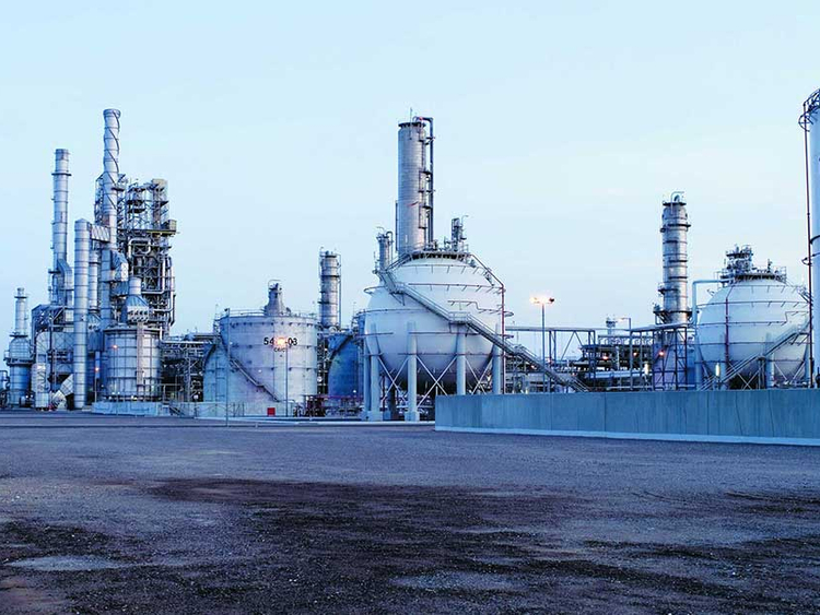 Sabic profits fall, steel business hit by writedowns