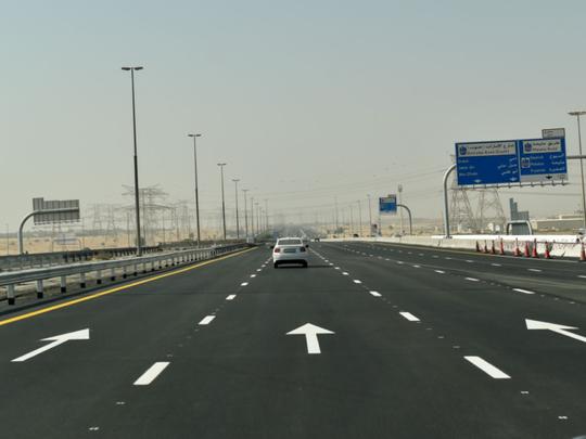 Coronavirus: People driving through Dubai can use Emirates Road