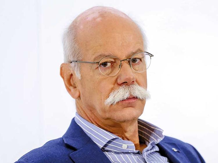 Turnaround man Daimler CEO stumbles on victory lap ...
