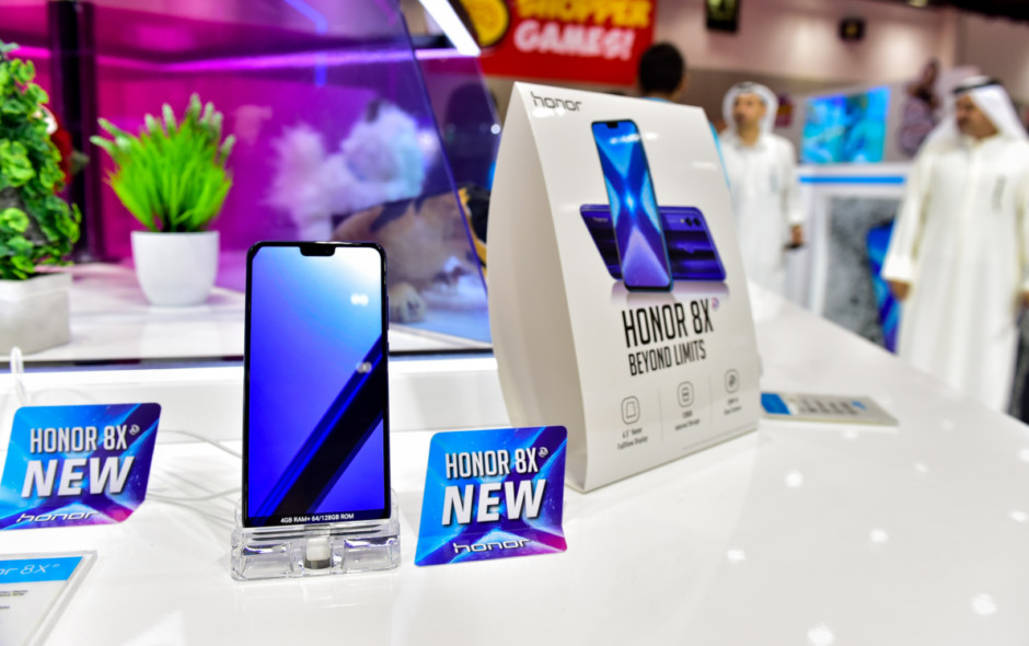 Honor gets strong pre-orders for its 8X phone launch
