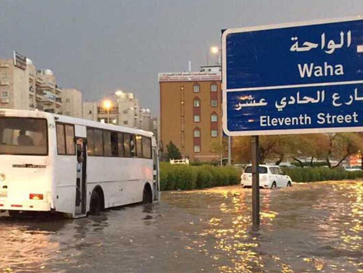 181106 Kuwait flood