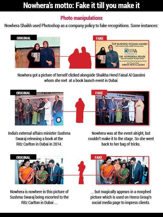 How Heera Group's managing director Nowhera Shaikh faked awards to