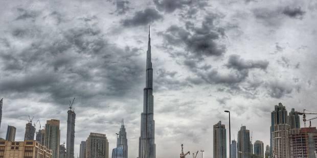 181106 Cold weather in Dubai