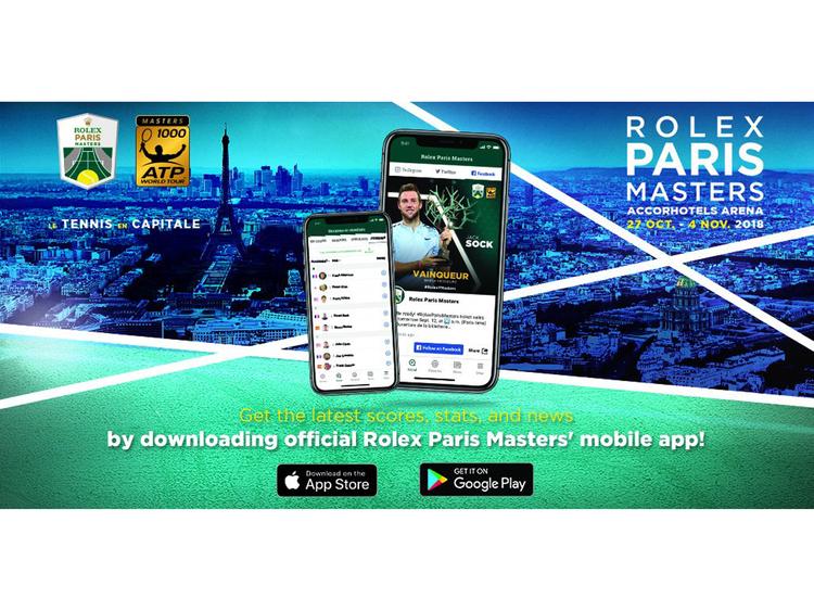 Tennis ATP Rolex Paris