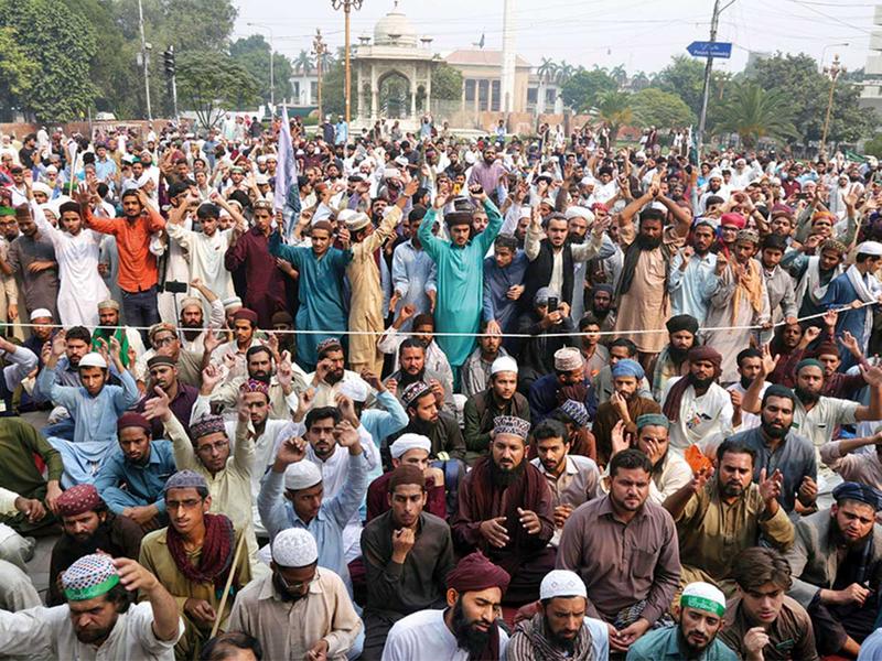 181108 Protest pakistan