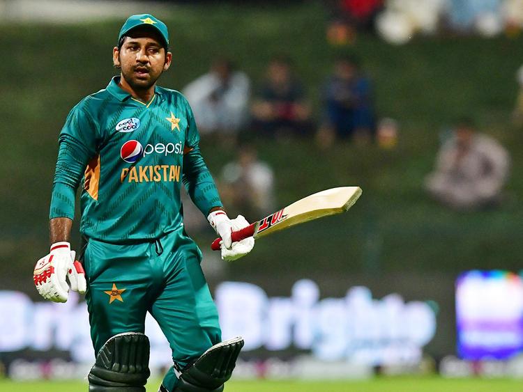 Pakistan cricketer Sarfraz Ahmed_181108