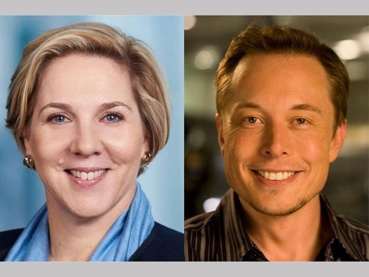 Robyn Denholm and Elon