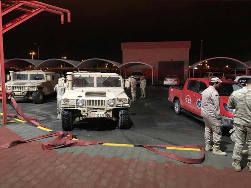 181109 Kuwait floods