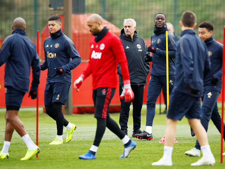 Manchester United manager Jose Mourinho_181109