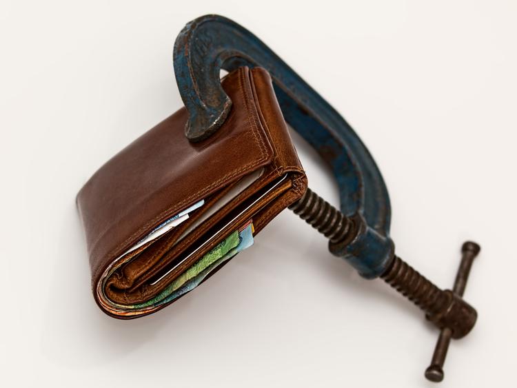 Cash clamp