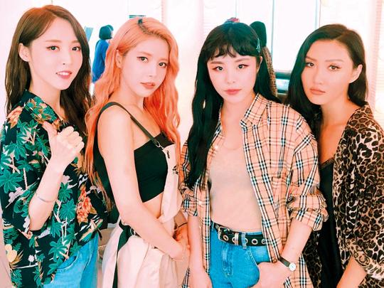 Mamamoo members