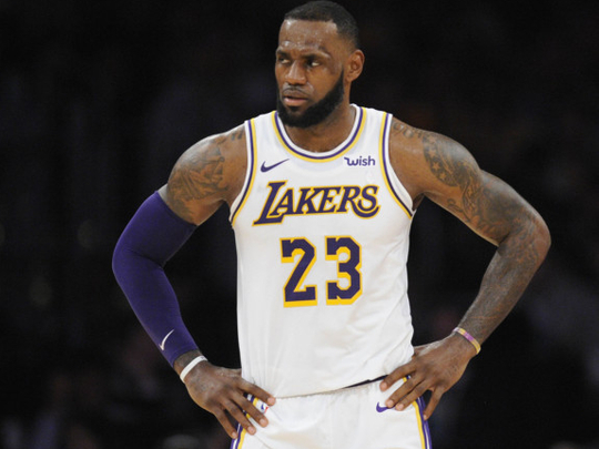 cozy fresh 14733 757d7 LeBron James can't hand over Lakers No. 23 jersey over Nike ...