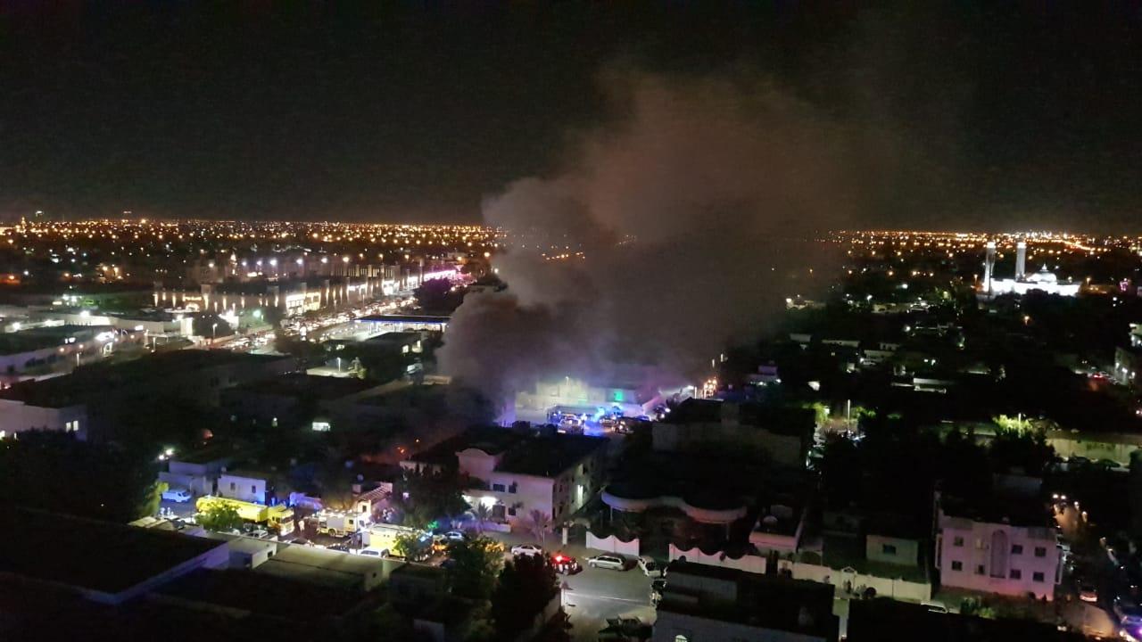 181112 Sharjah blaze