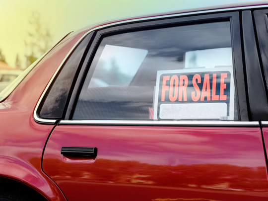 second-hand car for sale