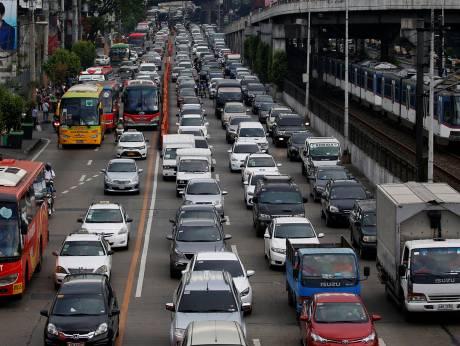 Manila traffic 02