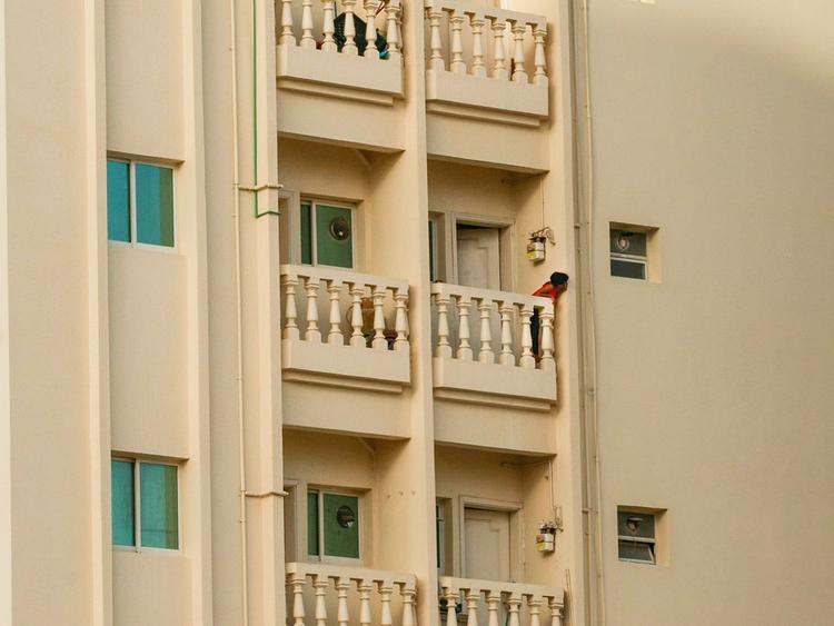 Sharjah balcony