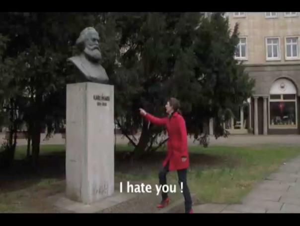 I hate Karl Marx - Rainer Ganahl