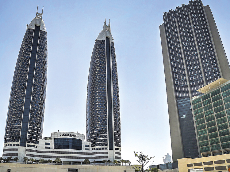 The Damac Towers on Shaikh Zayed Road