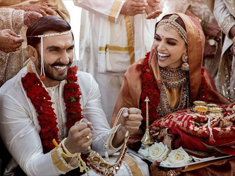 Deepika Ranveer wedding photo