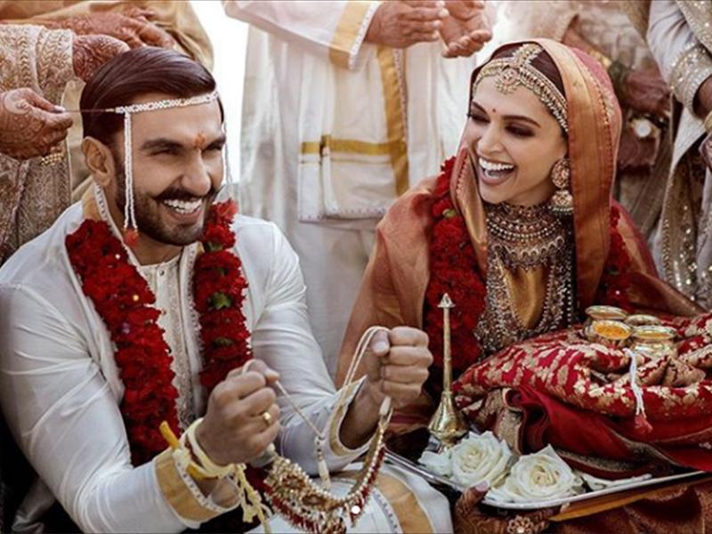Deepika Ranveer wedding photo