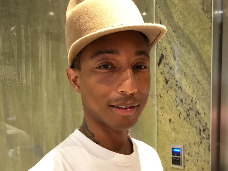 info for 7a236 4cadf Pharrell Williams angers Palestinians