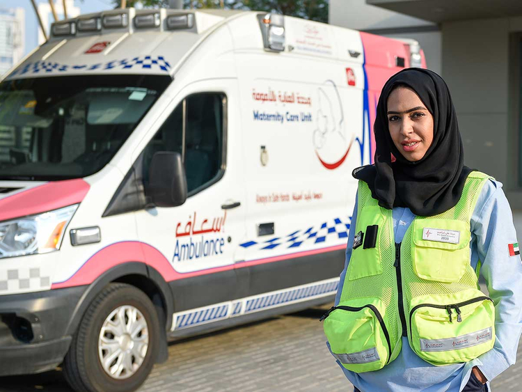 What it means to be a woman ambulance driver in Dubai | Uae