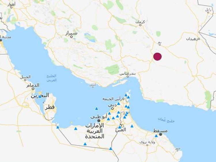 Iran quake Nov. 17
