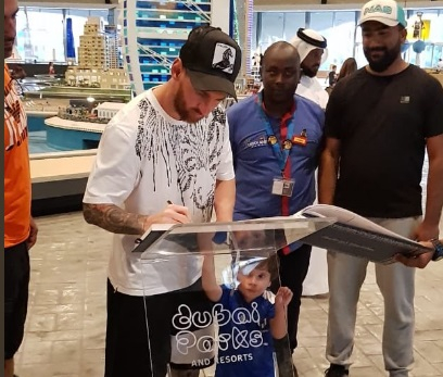 Messi in Dubai