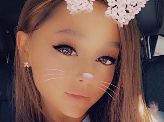 tab Ariana Grande  instagram