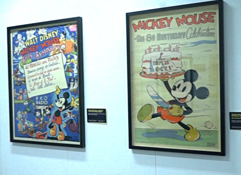 tab Vintage posters of Mickey mouse going for auction