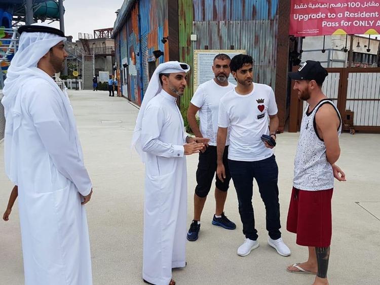 Lionel Messi in Dubai 1