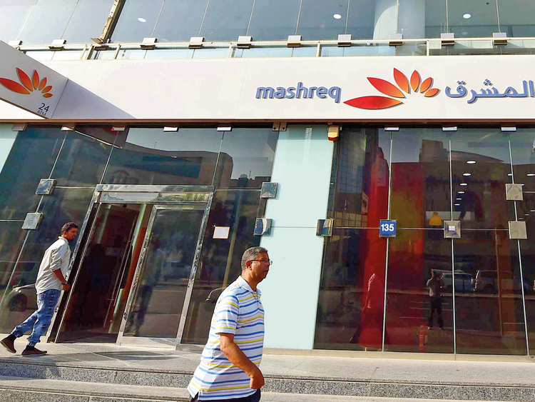 Mashreq Bank at Bur Dubai
