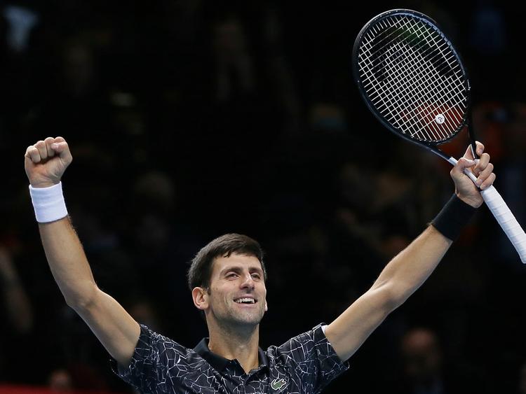 Novak Djokovic  November 17