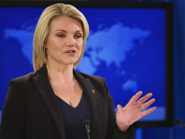 US State Department Spokesperson Heather Nauert 18112018