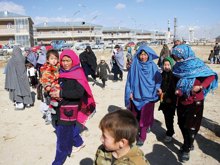 Afghan families