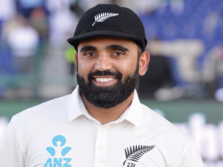 New Zealand cricketer Ajaz Patel