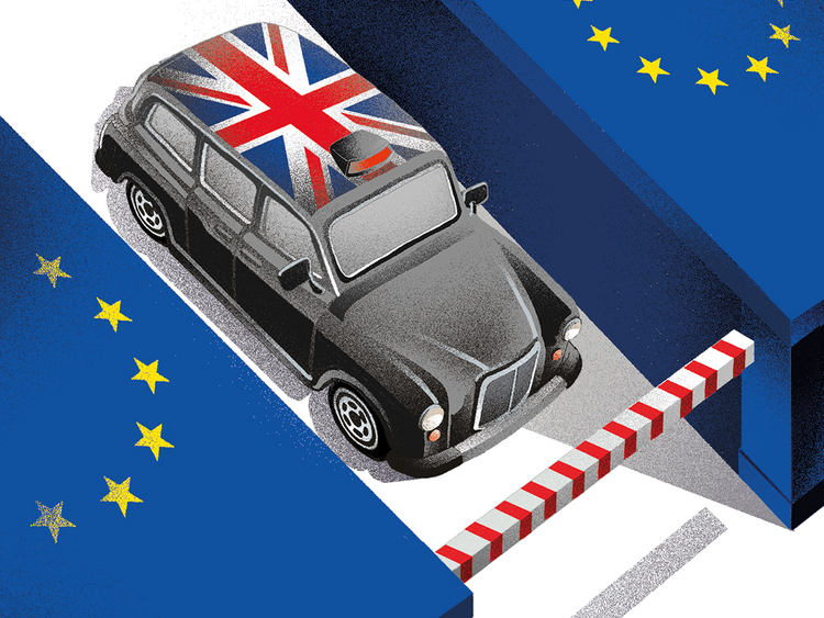 The EU is set to hold Britain captive
