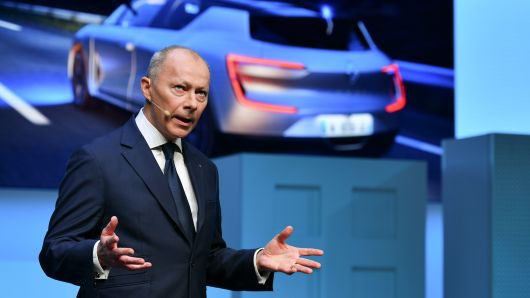 Renault SA chief operating officer  Thierry Bollore 01