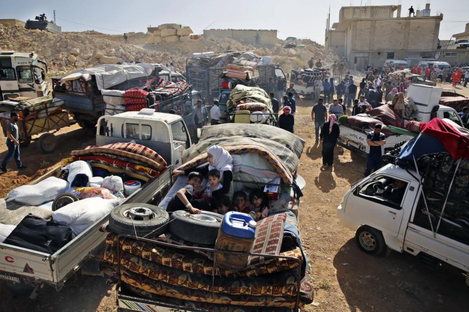 Syrian refugees  LEBONON