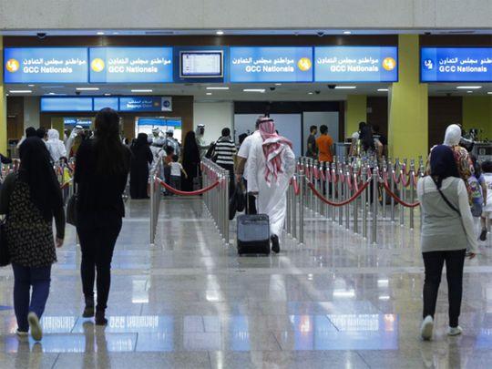 Dubai Airport passport control