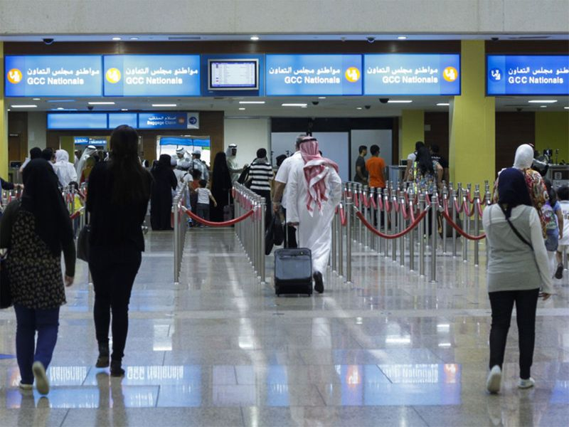 Dubai Airport passport control